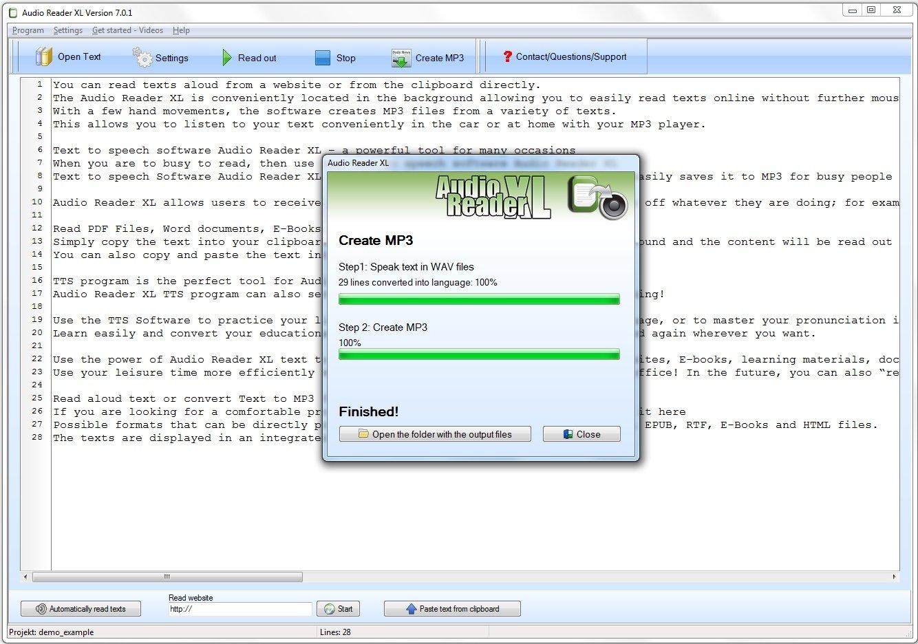 pdf file voice reader software free download