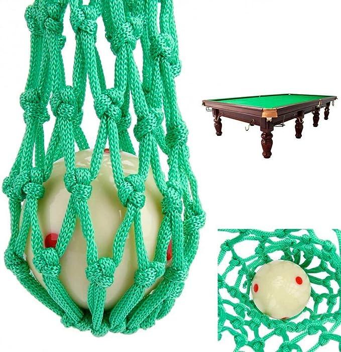 Juego 6 x Red Buca buche bolas bolas billar carambola hasta 4.1 cm nailon verde: Amazon.es: Electrónica