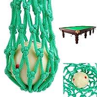 Set 6x rete buca buche palle palline biliardo carambola fino 4.1cm nylon verde