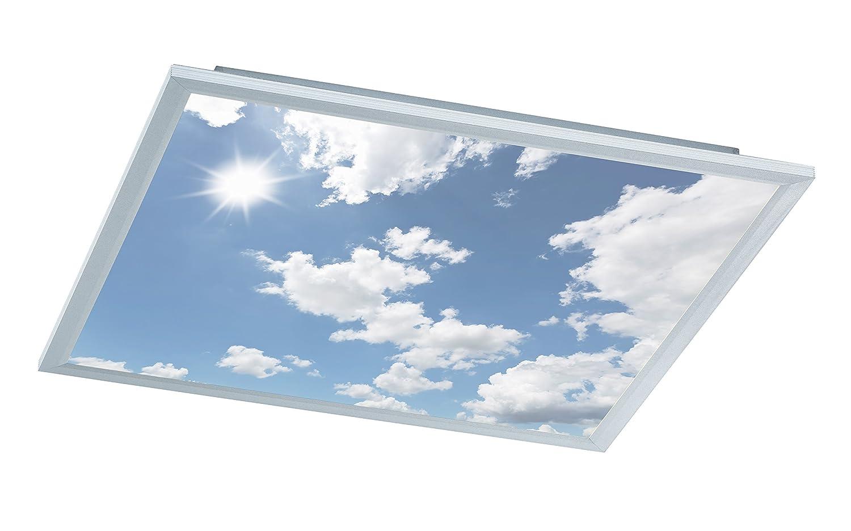 WOFI A LED Deckenleuchte Metall 44 W Integriert 600 x 55 x 600 cm ...