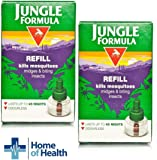 Jungle Formula Mosquito Killer Plug In Refill 35 ml **2 PACK DEAL**