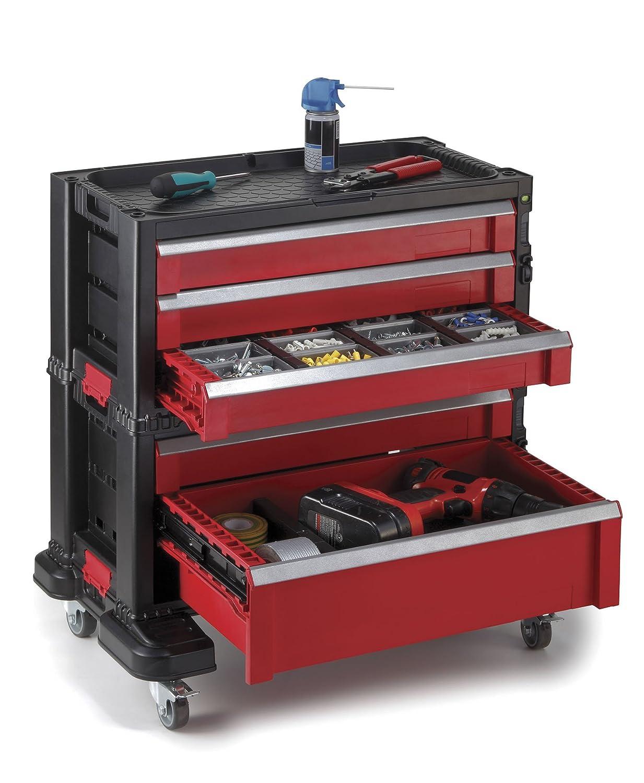 Keter 5-drawer ModularガレージとツールオーガナイザーとストレージシステムツールChest B01D9VPW4U