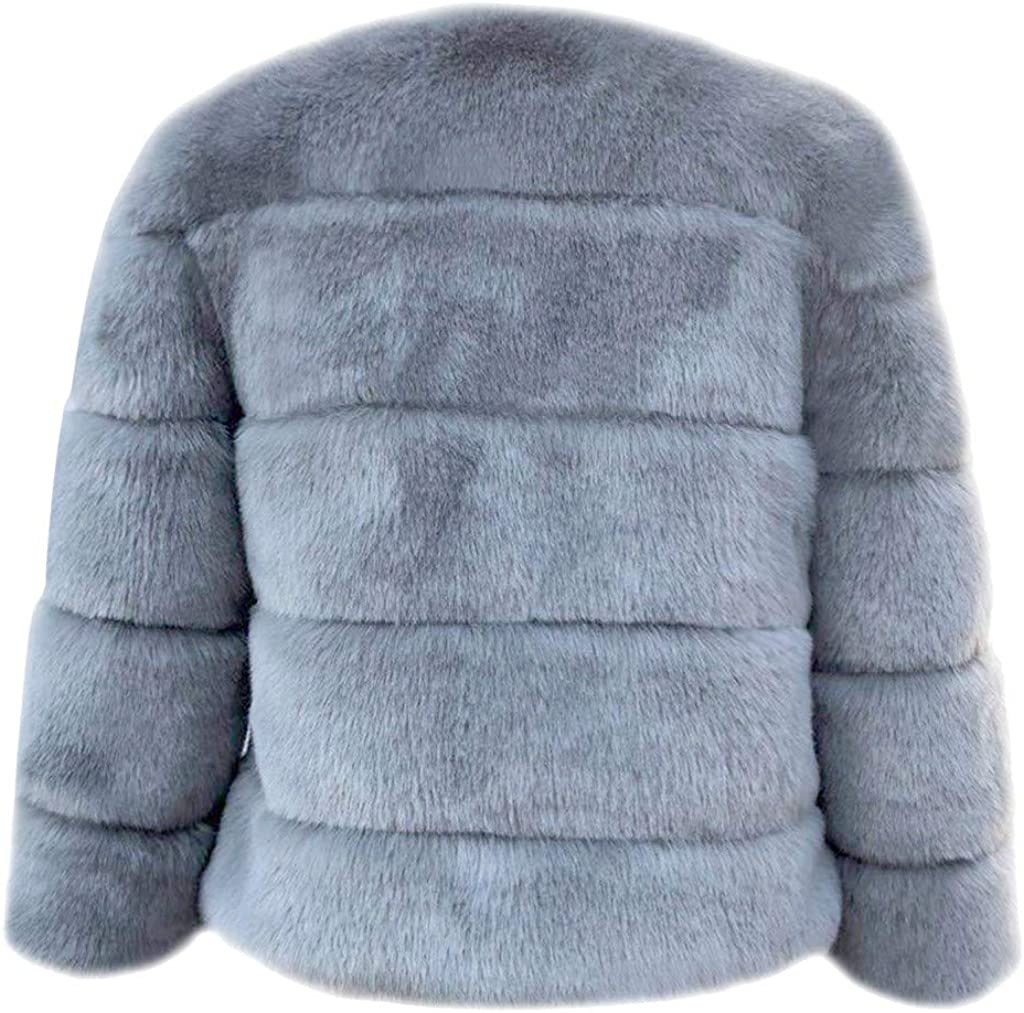 Womens Long Sleeve Winter Warm Coat Fashion Thick Jacket Outwear