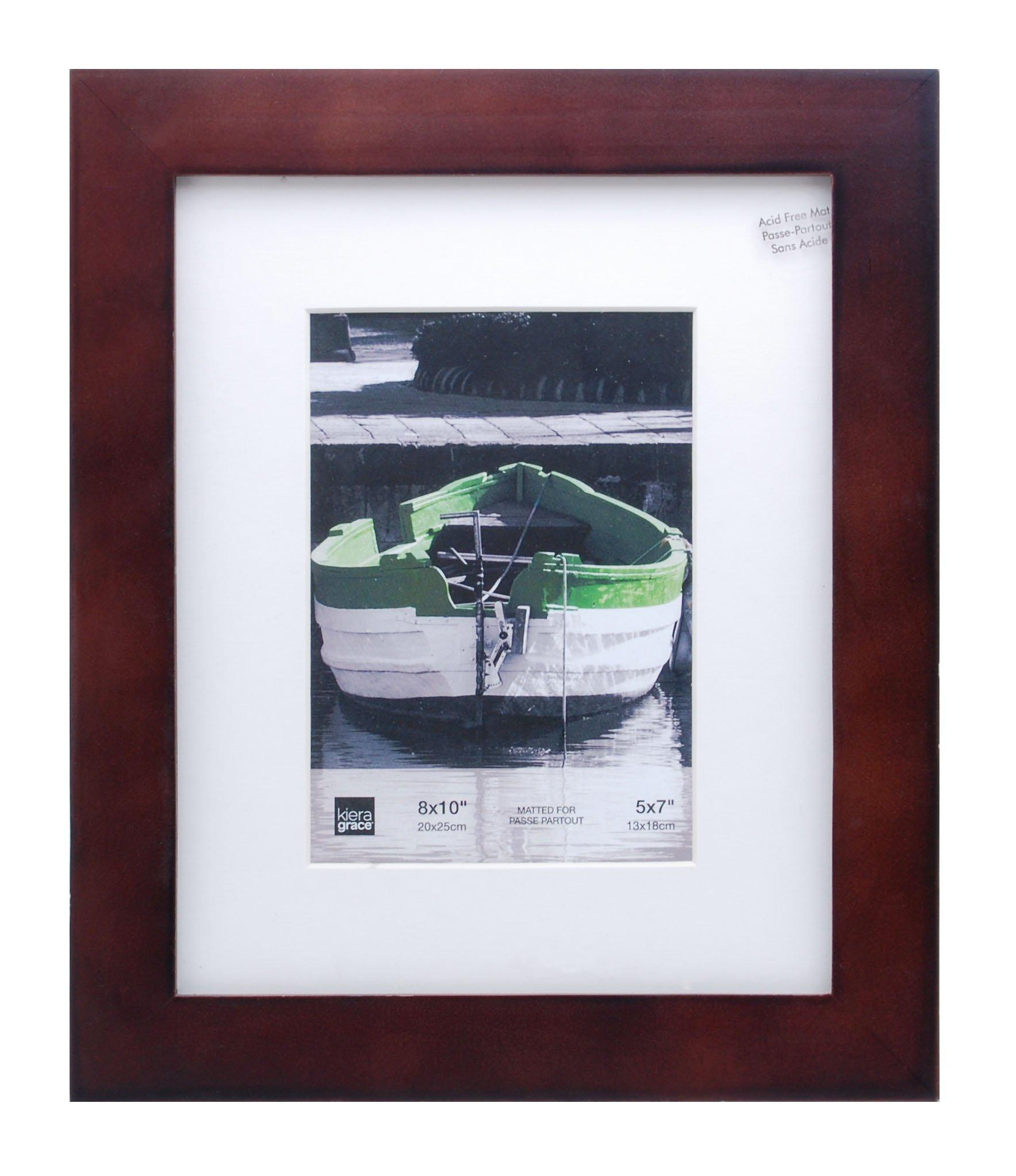 kieragrace Langford Wood Picture Frame, 8 by 10-Inch, Espresso by kieragrace