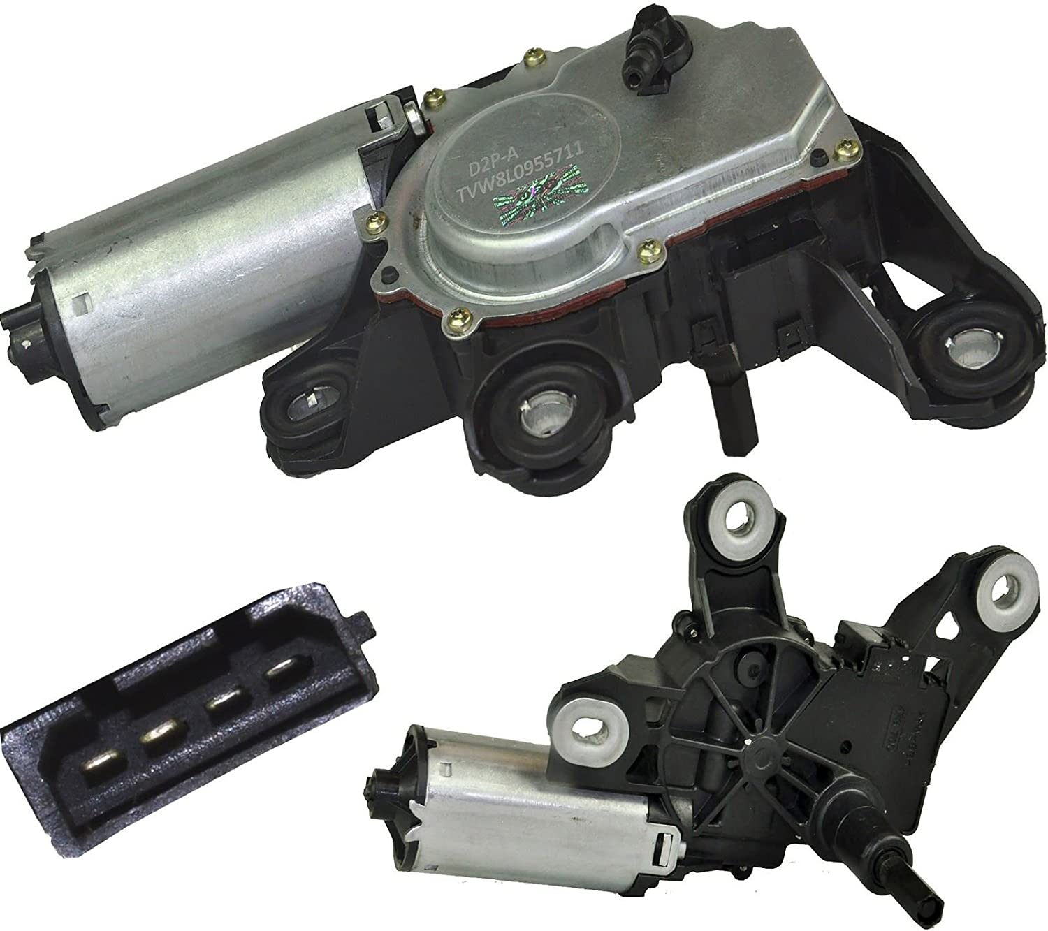 B5 A6 A4 3B9955711C 8L1 /& 8PA D2P REAR WINDSCREEN WIPER MOTOR FOR A3 /& PASSAT 3B9955711B C5