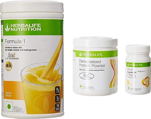 F 1 Mango F 3 Herbalife Protein Powder And Afresh Lemon