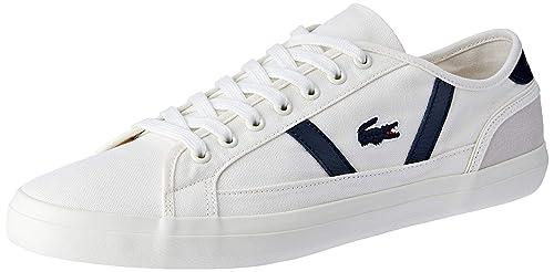 ed4178153 Lacoste Men s Sideline 119 1 CMA Trainers  Amazon.co.uk  Shoes   Bags