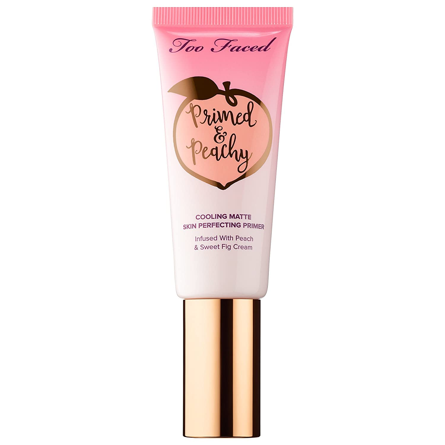 Too Faced Primed & Peachy Cooling Matte Perfecting Primer, 40 mL / 1.35 Fl.Oz.