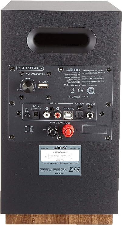 Jamo S801 Pm Powered Monitor Speakers Black Amazon Co Uk Hi Fi Speakers