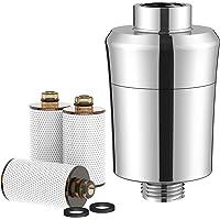 Rainsworth Douchefilter, waterontharder Douchekop Filter, actieve koolvezel waterfilter met 3 cartridges om chloor en…