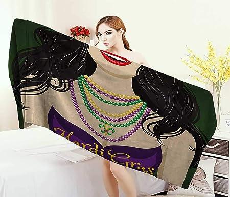 Anniutwo Mardi Gras, Toalla, máscara Veneciana de Carnaval ...