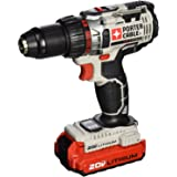 PORTER-CABLE 20V MAX Cordless Drill / Driver Kit, 1/2-Inch (PCC606LA)