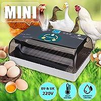 S SMAUTOP Incubadora de Huevos 12 Huevos Incubadora