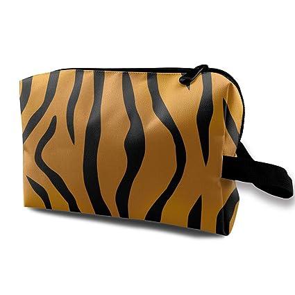Tiger Pattern Bolsas de cosméticos pequeñas Bolsa de ...