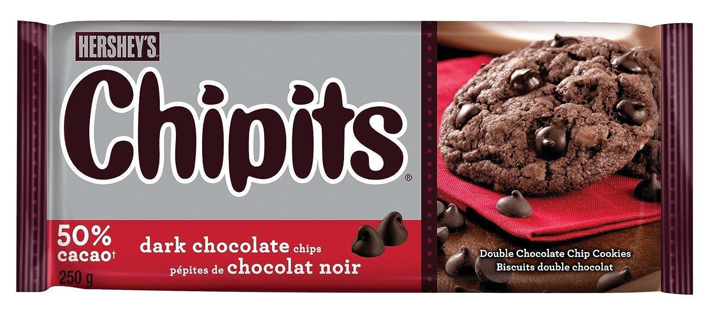 Hershey's Chipits Premium Dark Chocolate, 250-Gram: Amazon.ca ...