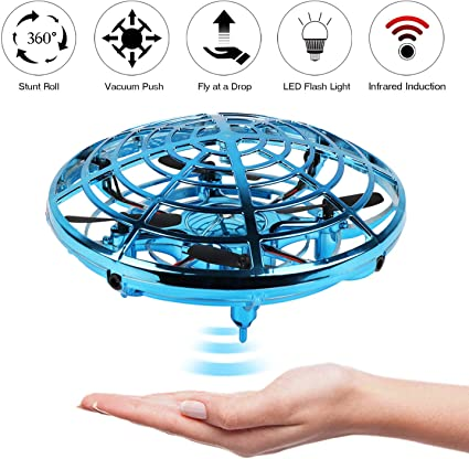 """/""""Force1 Scoot/"""" Hands Free Hover Drone Toy Mini Quadcopter Drone"""