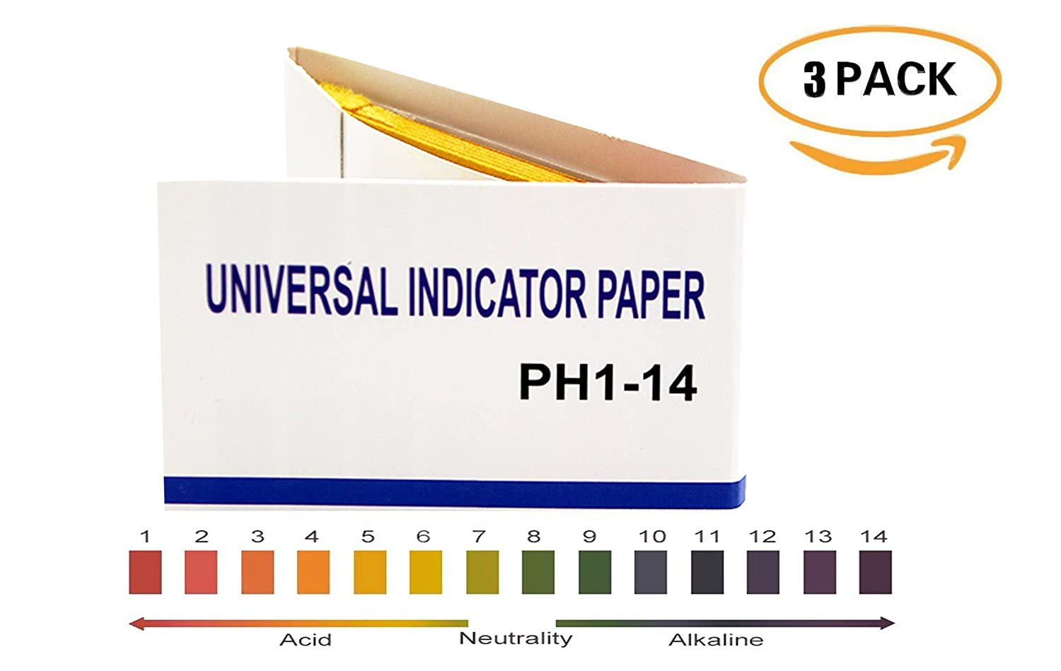 Anonex PH 1-14 test Paper, PH universal Indicator Paper for ... for Ph Scale Universal Indicator  103wja