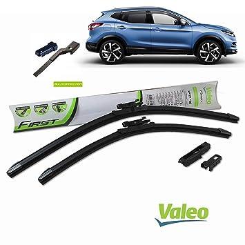 Valeo_group Valeo Juego de 2 escobillas de limpiaparabrisas Especiales de Desayuno | 650/400 mm |: Amazon.es: Coche y moto