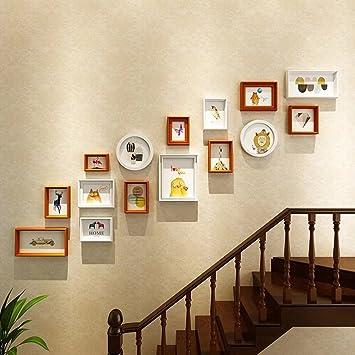 collage composite photo bois photo décoration murale création mur ...