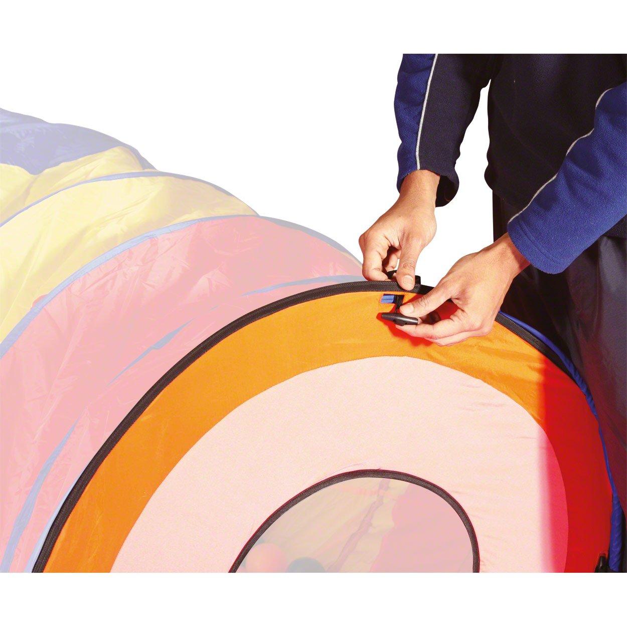 Tunnel Gates für Mega-Kriechtunnel, Kinder-Spieltunnel, Krabbeltunne, Spielzelt