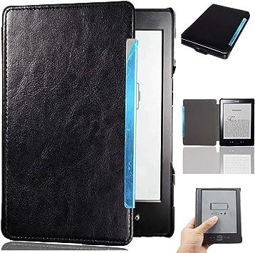 Afesar - Funda para Kindle 4 y Kindle 5 (Piel sintética, función Atril, función Atril): Amazon.es: Electrónica