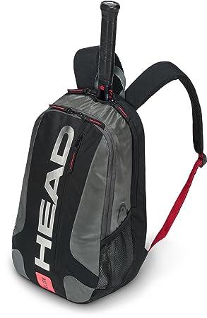 Head Elite - Mochila de Tenis Raqueta Bolsa, Color Negro/Rojo, tamaño n/a: Amazon.es: Deportes y aire libre