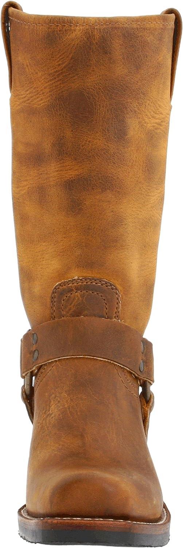 FRYE Women's Harness 12R Boot B000AM4SEC 7.5 B(M) US|Dark Brown Old Town-77300