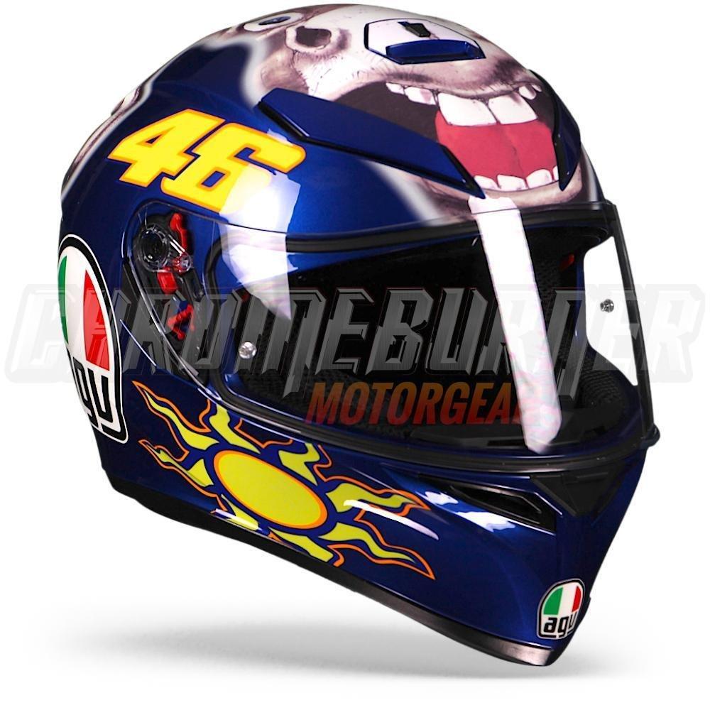 AGV K-3 SV Casco Donkey de edici/ón limitada de Valentino Rossi