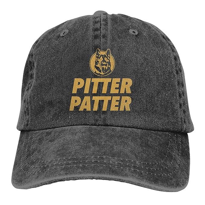 Sajfirlug Pitter Patter LetterKenny Fashion Adjustable Cowboy Cap Denim Hat for Women and Men
