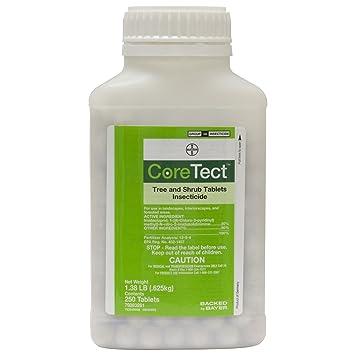 coretect Árbol y arbusto tabletas insecticida – 250 comprimidos por botella