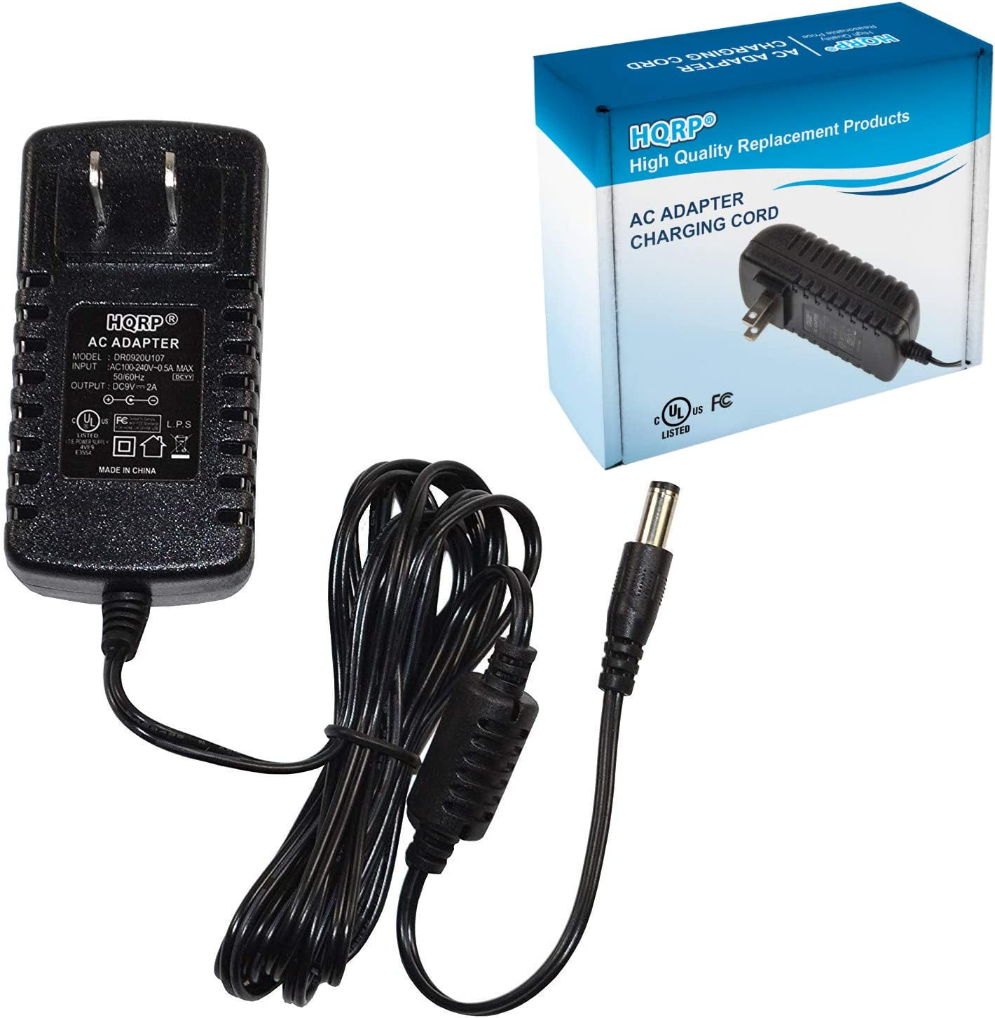 AC//DC Power Supply Adapter Cord For Roland EP-90 EP-707 Digital Piano Keyboard