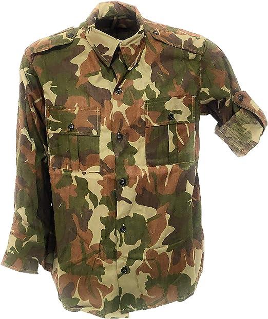 Fratelli ditalia - Camisa de Camuflaje Cromado para Hombre: Amazon.es: Deportes y aire libre