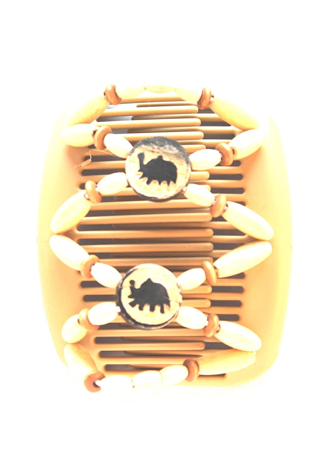 Amazon.com: Wide Tines for Thick Hair African Butterfly Hair Clip ...