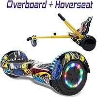 "COLORWAY Hoverboard Hover Scooter Board 6,5"" con Asiento"