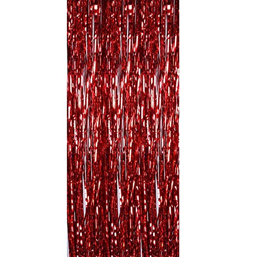 Toyvian - Falda de Mesa con borlas de 1 x 4 m para decoración de ...