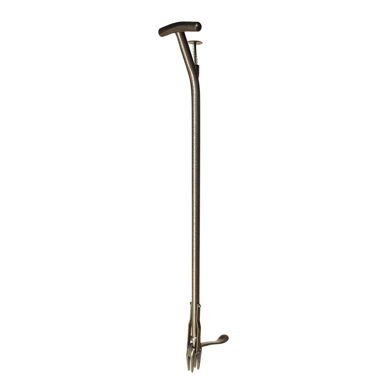 Yard Butler Rocket Weeder Long Handled Stand Up Steel Dandelion And Crabgrass Puller Lawn Weed Remover Extractor Tool - RKT-1000