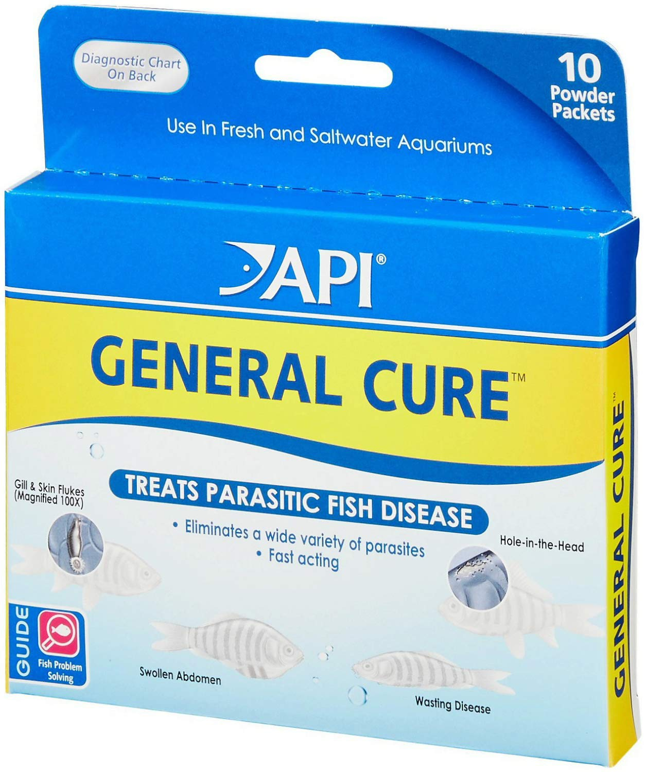 API General Cure Powder Packets, 60ct (6 x 10ct) by API