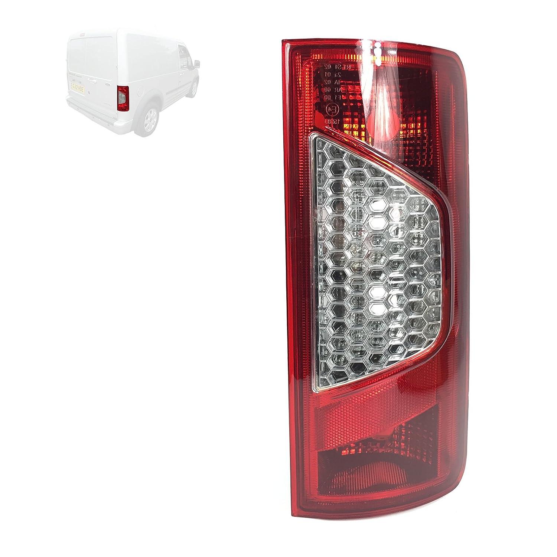 Trasero Derecho (Reino Unido/conductor, fuera de lugar) luz Cluster lente, 5103001 SOLARIS