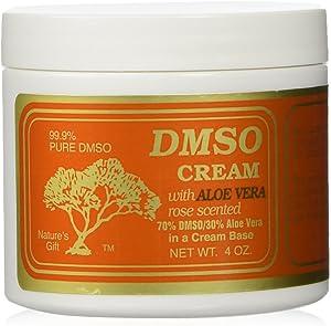 Dmso Cream With Aloe Vera, Rose Scented