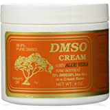 Dmso Cream with Aloe Vera, Rose Scented 4 Oz