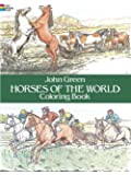 Horses of the World Coloring Book (Dover Nature Coloring Book)