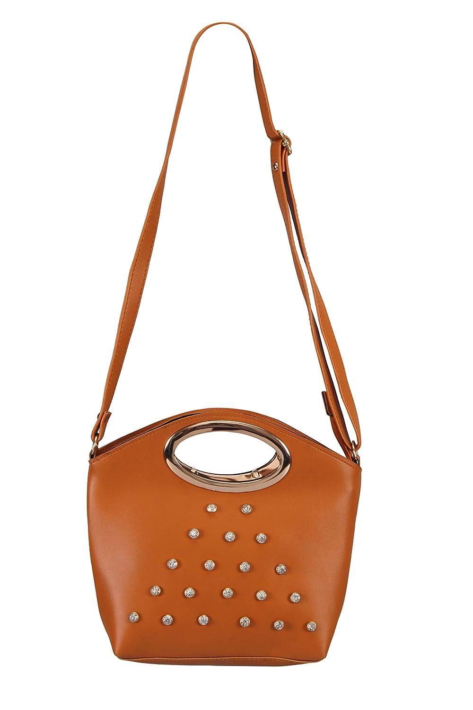054aab08628 Aizah s Latest Sling Bag for Women (MAUVE)  Amazon.in  Shoes   Handbags