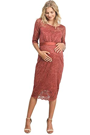 Vestido de Maternidad para Mujeres Encaje