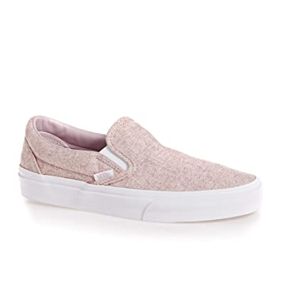 eb04f92ec9d6 Vans Classic Slip-On (Flannel) Violet Ice True White VN0A38F7UKA (6.5