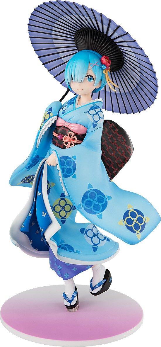 Kadokawa Re Zero -Starting Life in Another World- PVC Statue 1 8 REM Ukiyo-e Ver. 22 cm