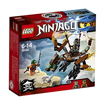 lego ninjago 70599 coles dragon mixed