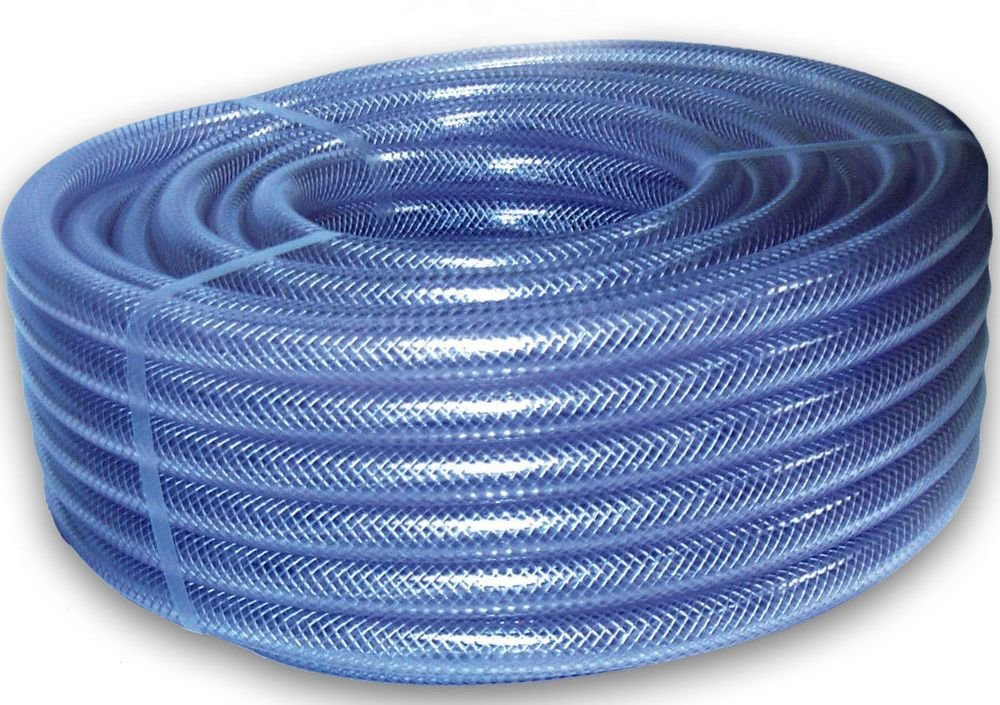Lifeplast Pvc Braided Hose Pipe 0 5 Inch 10 Meter Amazon In Garden Outdoors