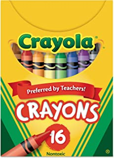product image for Crayola 520016 Classic Color Crayons, Tuck Box, 16 Colors