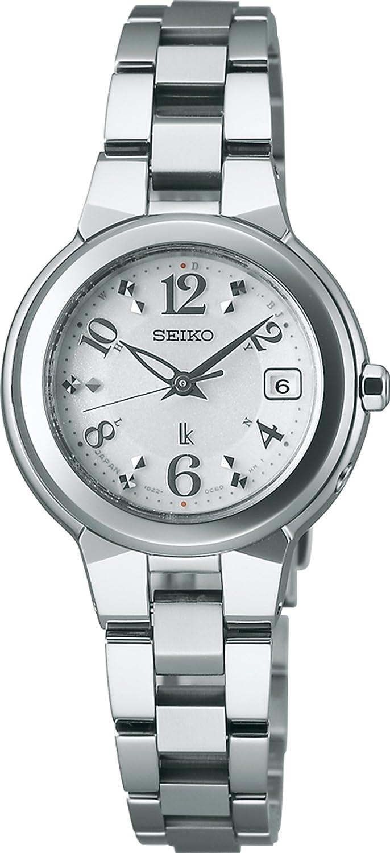 [セイコー]SEIKO 腕時計 LUKIA ルキア ソーラー電波修正 サファイアガラス 日常生活用強化防水 (10気圧) SSQW013 レディース B00I3YVKLS