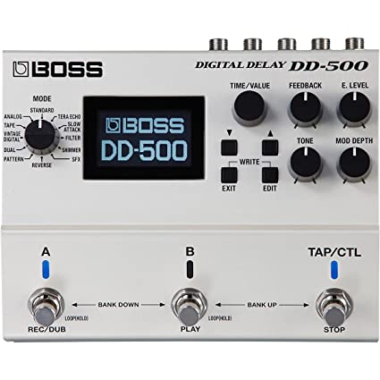 amazon com boss dd 500 digital delay musical instruments rh amazon com